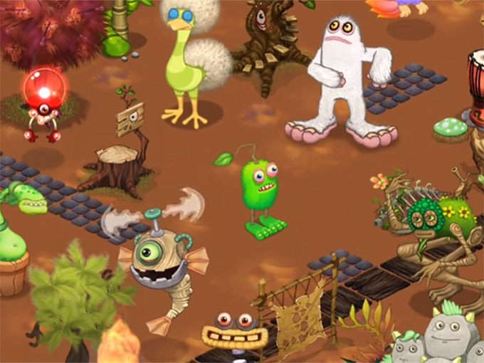 Kidscreen » Archive » My Singing Monsters signs master toy partner