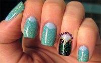 elsa forzen disney nail arts - kids fun fans