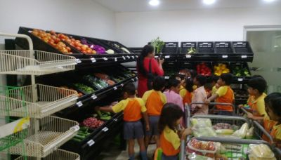 Visit to the fruit and vegetable shop