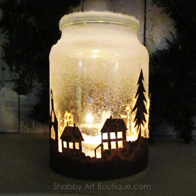 The-original-Christmas-Township-Candle-Jar-view-2-by-Shabby-Art-Boutique