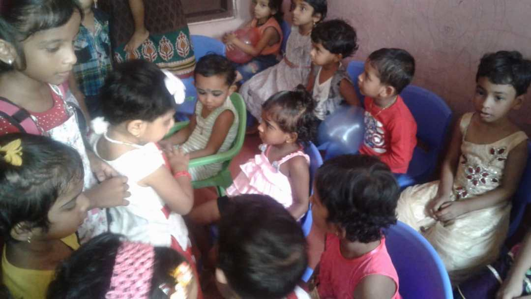 Christmas Celebrations with the Anganwadi Children