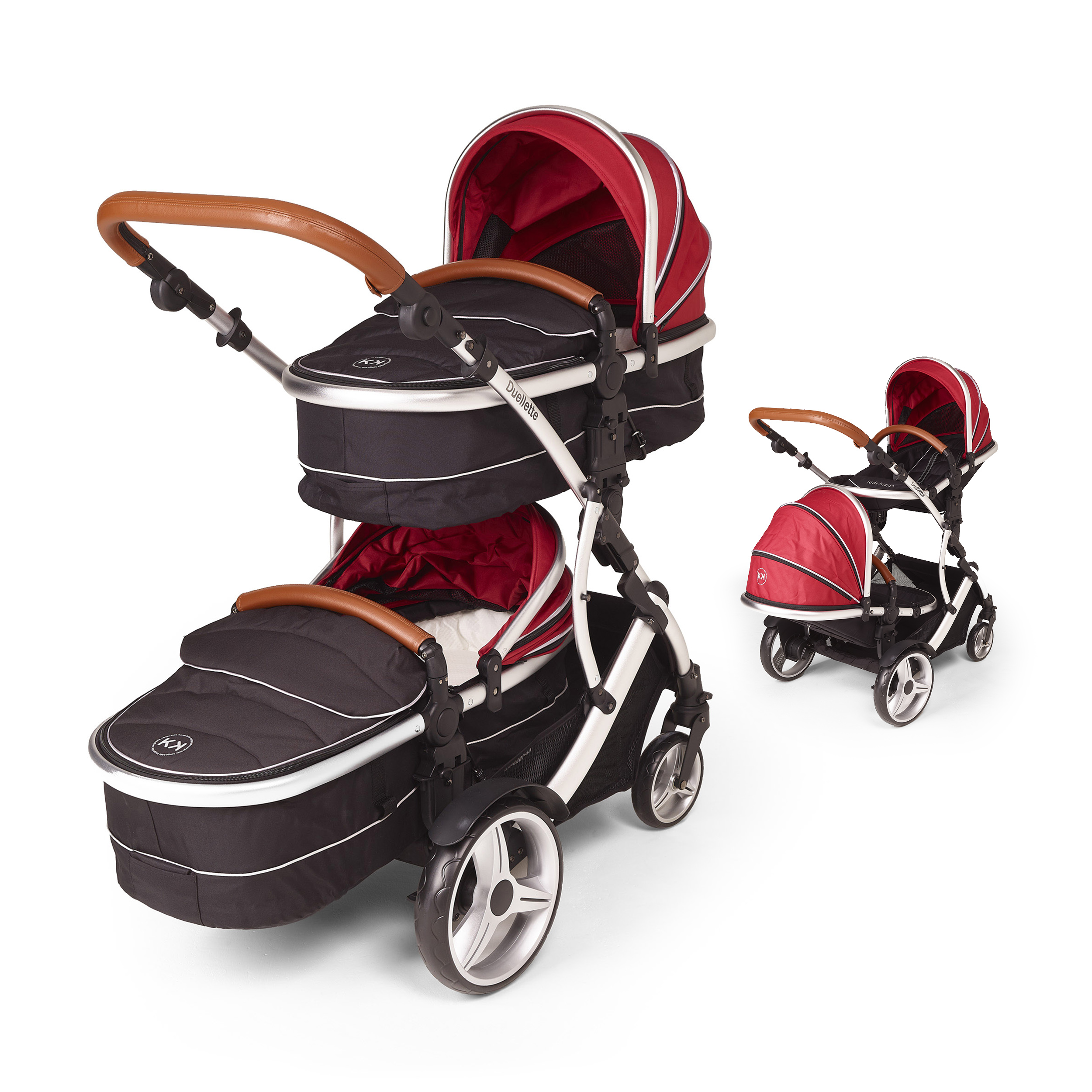 Combi Double Stroller Side By Side Buy Now Pay Later Kids Kargo Duellette Combi Plus