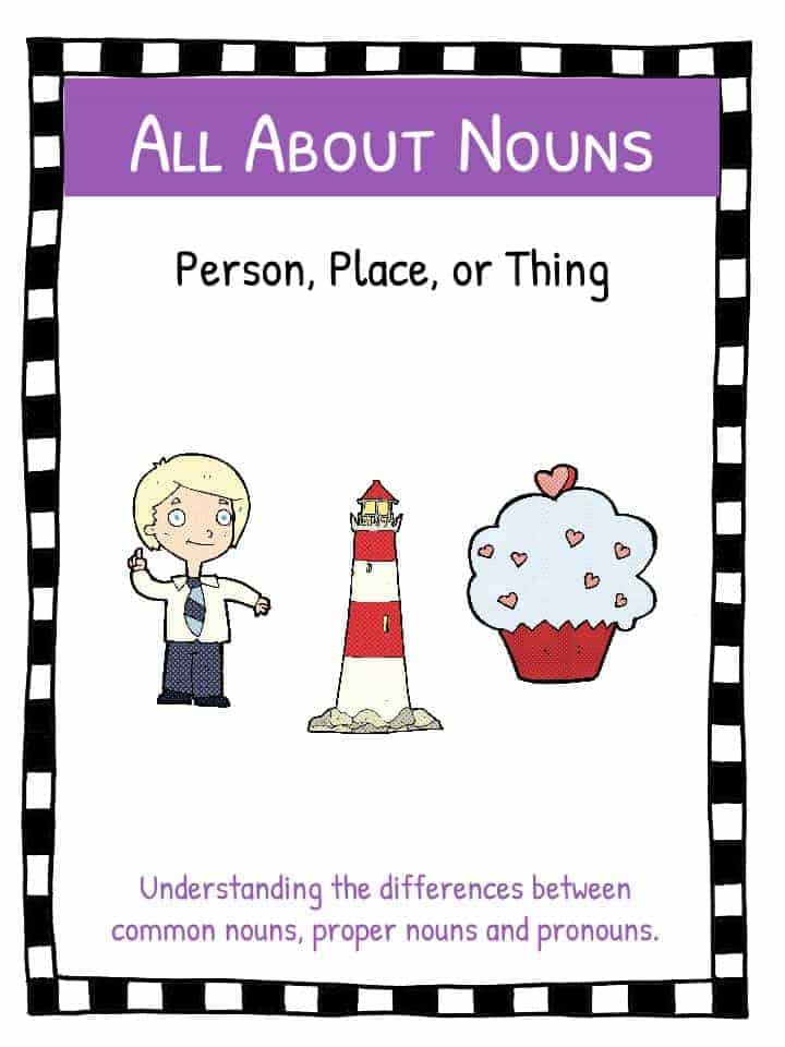 Noun Worksheets KidsKonnect