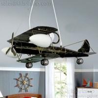 kids bedroom nursery aircraft plane ceiling lights ...