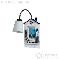 Cute kids bedroom wall mounted lamps beach style lights ...