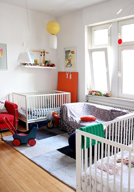 Baby Kinderzimmer Set 12 Delightful Nursery Design Ideas For Multiples | Kidsomania