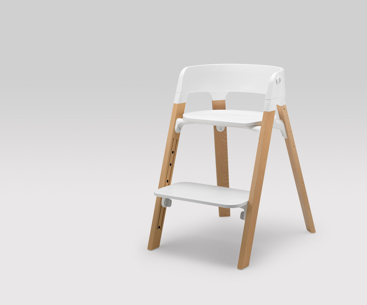 Chaises Bebe Evolutive Versatile And Comfy Stokke Steps Baby Chairs | Kidsomania