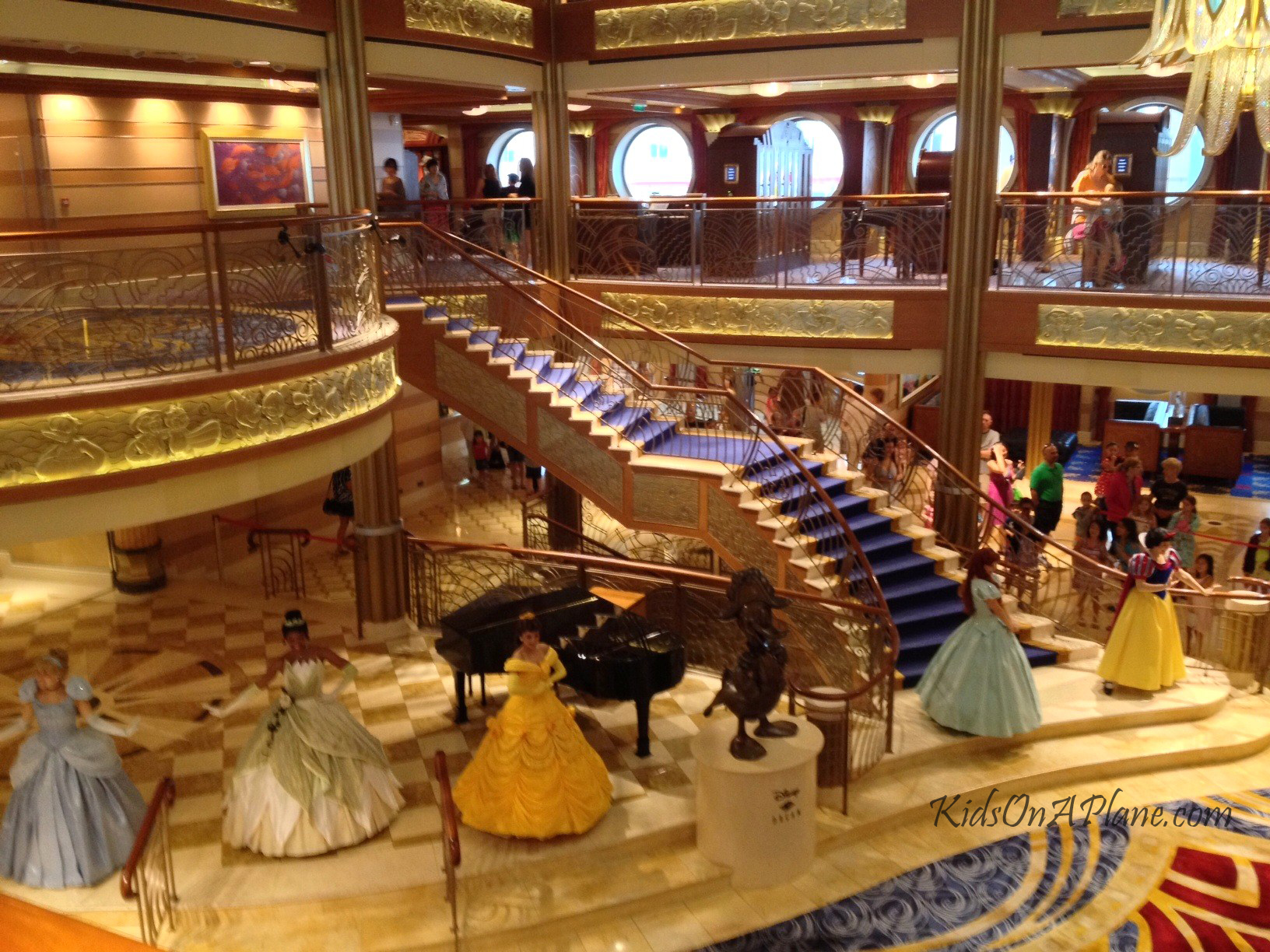 Disney Cruise Atrium Disney Dream Atrium Princess