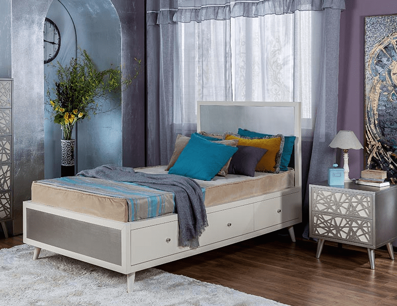 Romina New York Collection Twin Bed Kids Furniture In