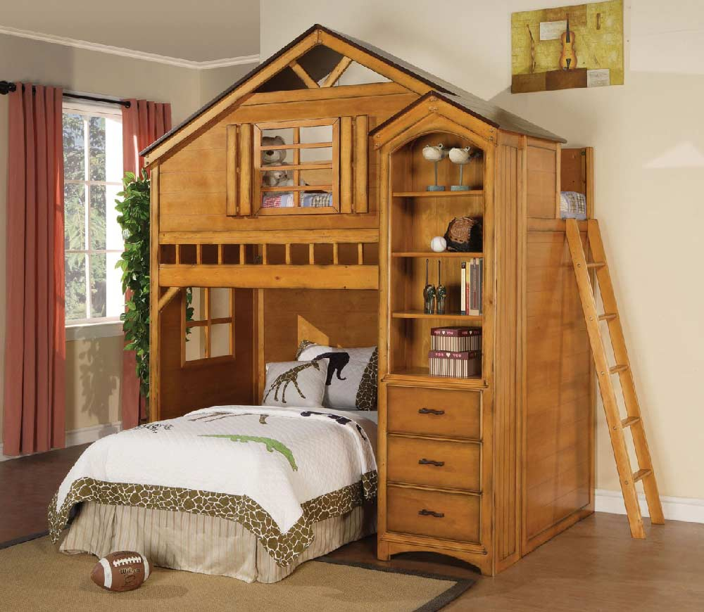 Baby Toddler And Town Treehouse Twin Loft Bed Kids Furniture In Los Angeles