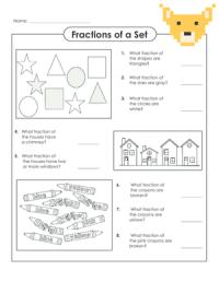 Super Teacher Worksheets Fractions Of A Set - fraction ...