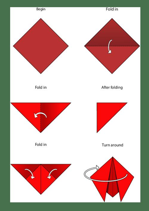 Easy origami instructions ladybug kidspressmagazine com