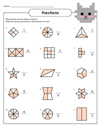 Free coloring pages of easter egg fractions