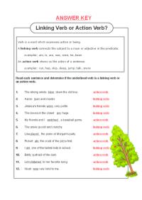 All Worksheets  Linking Verb Worksheets - Printable ...