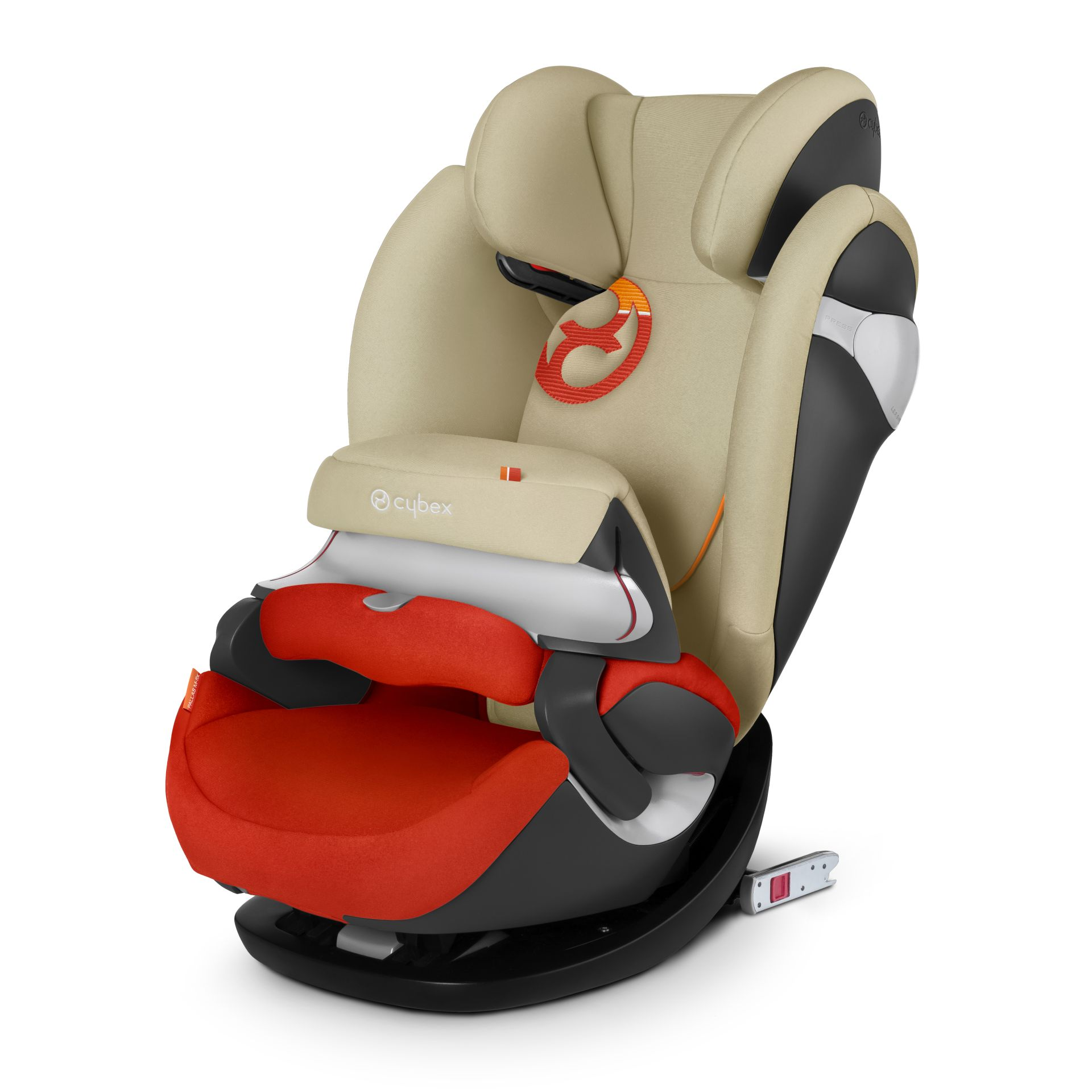 Autositz Cybex Pallas M Fix Cybex Kindersitz Pallas M Fix 2017 Autumn Gold Burnt Red