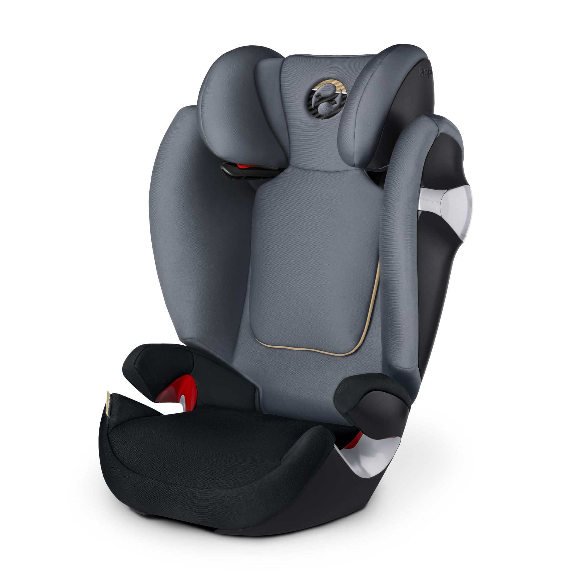 Silla Cybex Pallas M Fix Silla De Coche Solution M Cybex 2017 Graphite Black Dark
