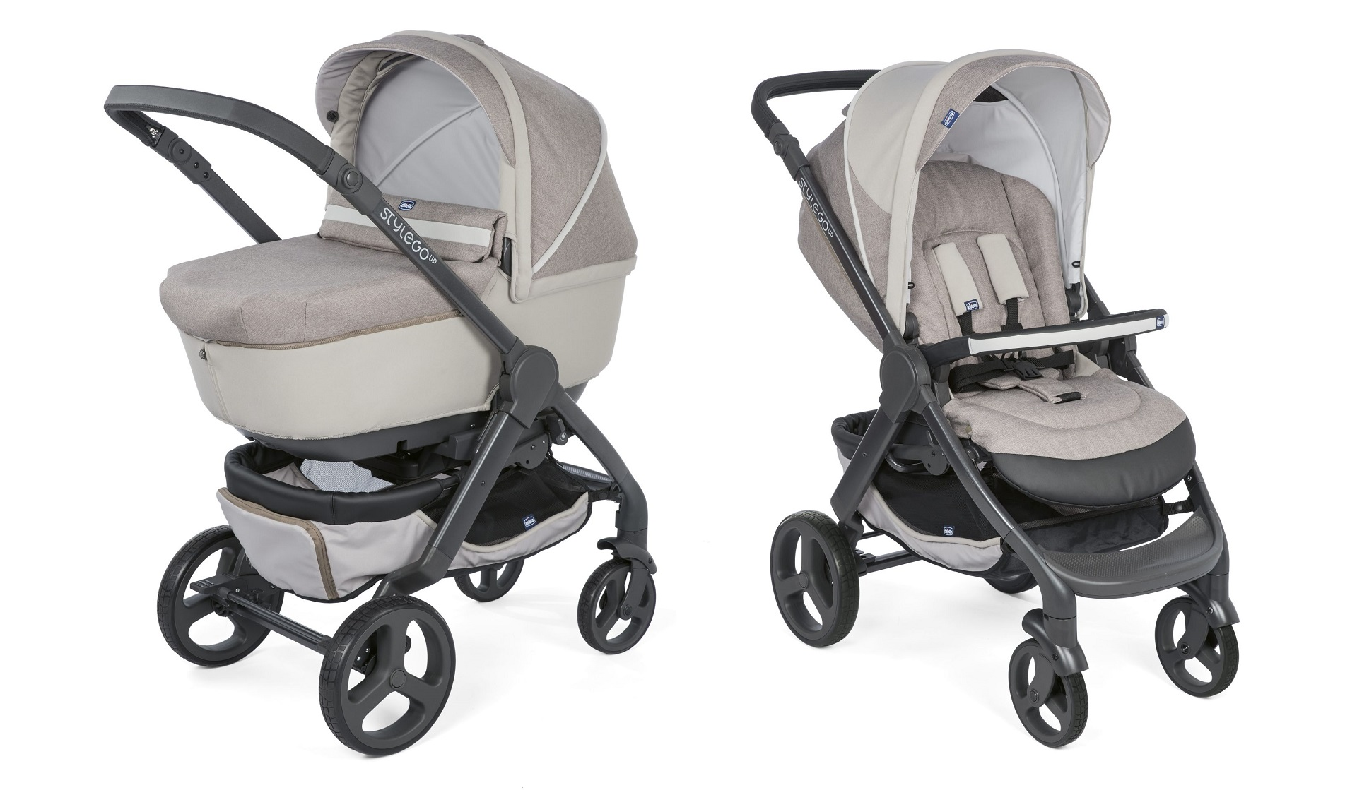 Fußsack Kinderwagen Chicco Chicco Kinderwagen Duo Style Go Up Crossover