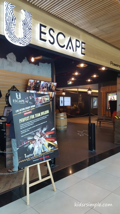 U escape plaza singapura escape room suitable for for Escape room concept