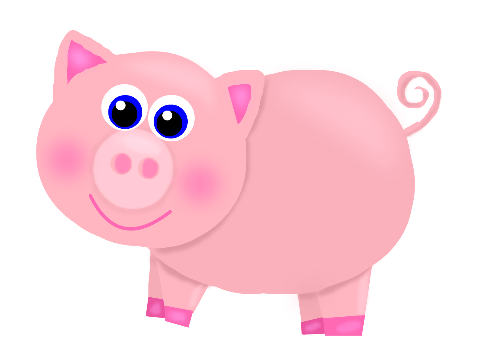 Cute Piggies Wallpaper Pig Pictures Kids Search
