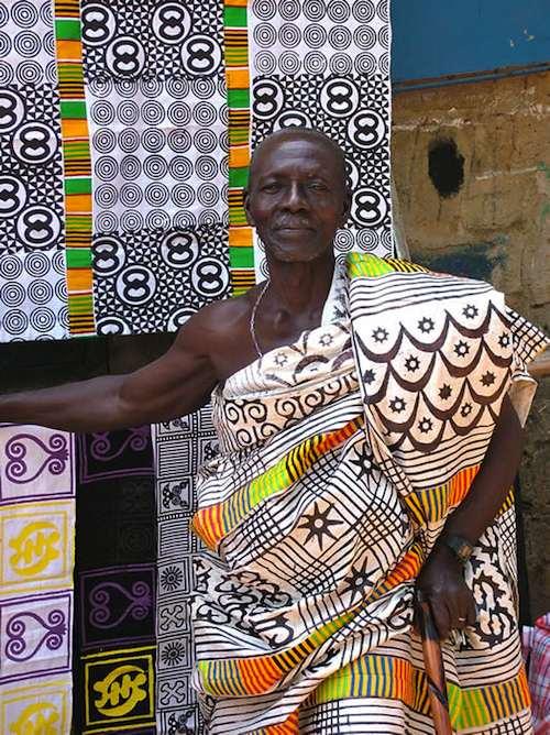 Elder in Adinkra- Kid World Citizen