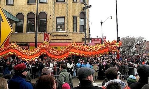 Chinese New Year Dragon Dance Parade- Kid World Citizen