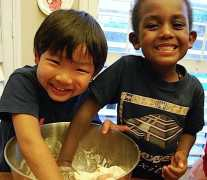 Kids Making Salt Dough Maps- Kid World Citizen