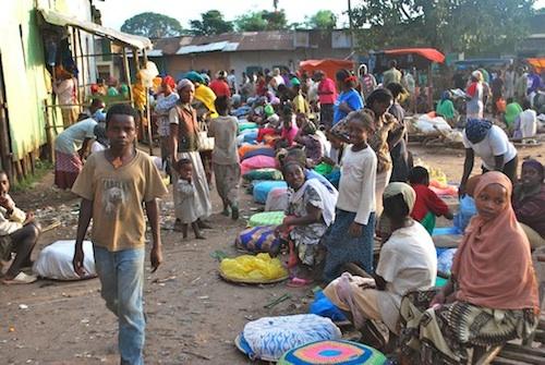 Ethiopian Market Jinka- Kid World Citizen