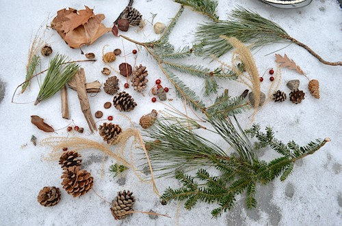 Materials for Winter Crafts for Kids- Kid World Citizen
