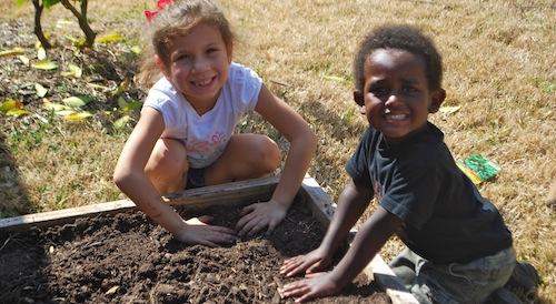 Preparing the Soil- Kid World Citizen