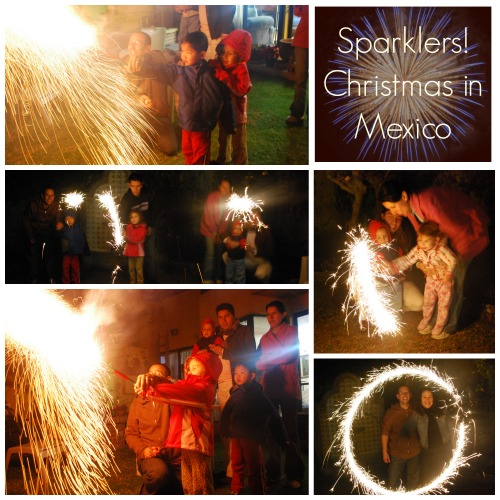 Christmas in Mexico Sparklers- Kid World CItizen