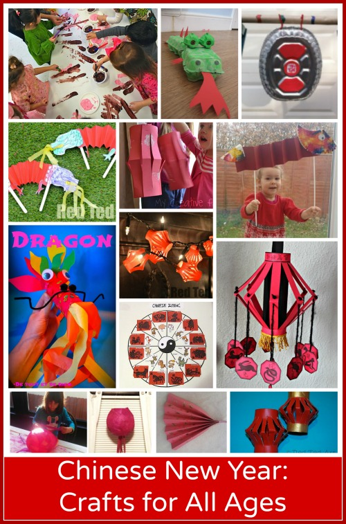 15 Chinese New Year Crafts: Preschool through Elementary