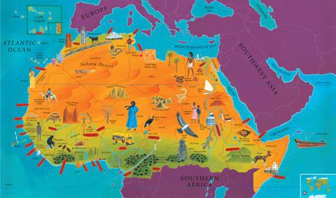 World Atlas for Kids- Kid World Citizen