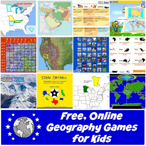 Free Online Geography Games