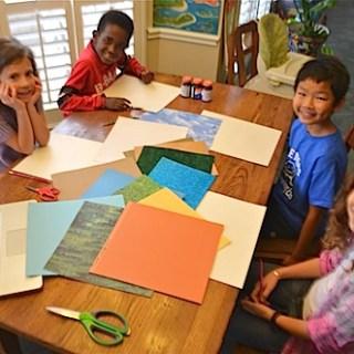 Paper Art: Landforms for Kids