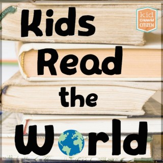 Kids Read the World Small Button- Kid World Citizen