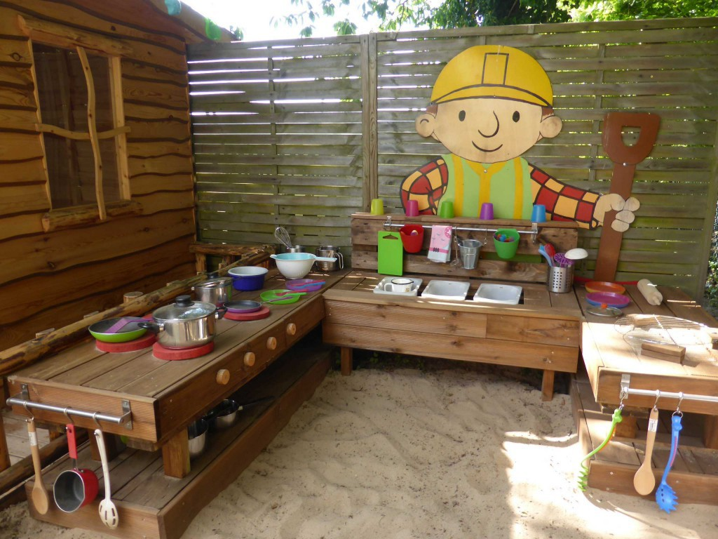 Palettenmöbel Outdoor Küche Outdoor Kinderküche Kita Kid Zone Kinderbetreuung
