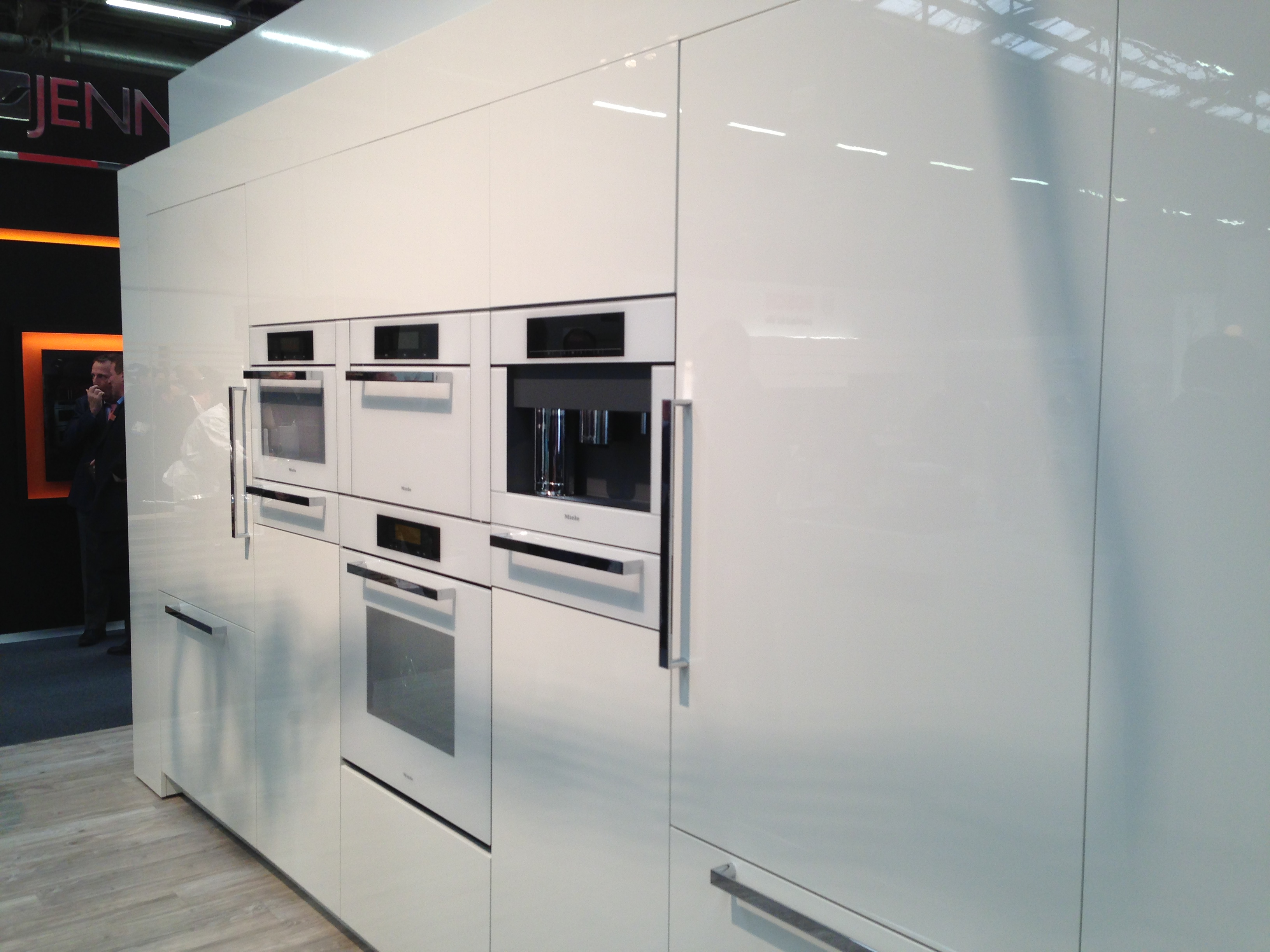 All White Kitchens With White Appliances The Architectural Digest Show Part 1 Kieffer 39s Appliances