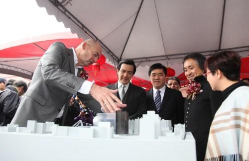 Ý tưởng dự án trung tâm biểu diễn nghệ thuật Đài Bắc / OMA