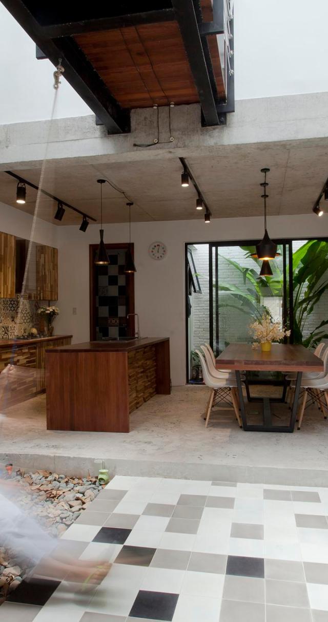 Chiêm ngưỡng B House / Công ty CP Tư vấn Thiết kế kiến trúc xây dựng I House