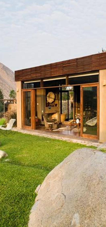Thiết kế nhấn mạnh cảnh quan thiên nhiên của khu vực