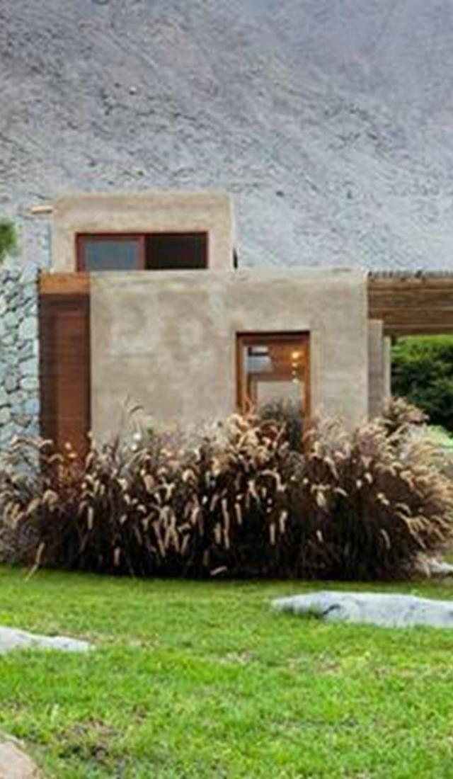 Cấu trúc sử dụng các yếu tố hài hòa với môi trường xung quanh