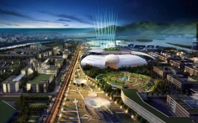 Tòa nhà chính quyền Khánh Hòa được tạo hình khối như một quả trứng khổng lồ đang nở. Ảnh: Viện Quy hoạch đô thị - nông thôn quốc gia.