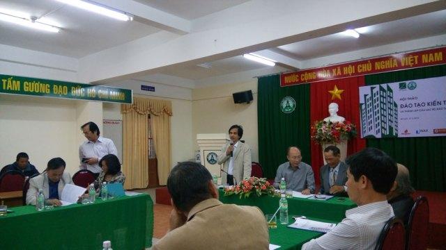 GS. TS Doãn Minh Khôi điều hành ra mắt CLB Đào tạo Kiến trúc sư