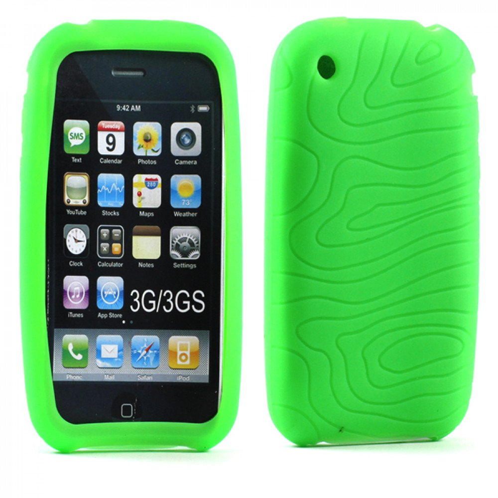 Iphone 3gs Wholesale Iphone 3gs Silicone Case Green