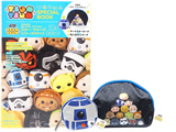 TSUM TSUM SPECIAL BOOK 《付録》 (1) オールスターポーチ (2) R2-D2ミニポーチ