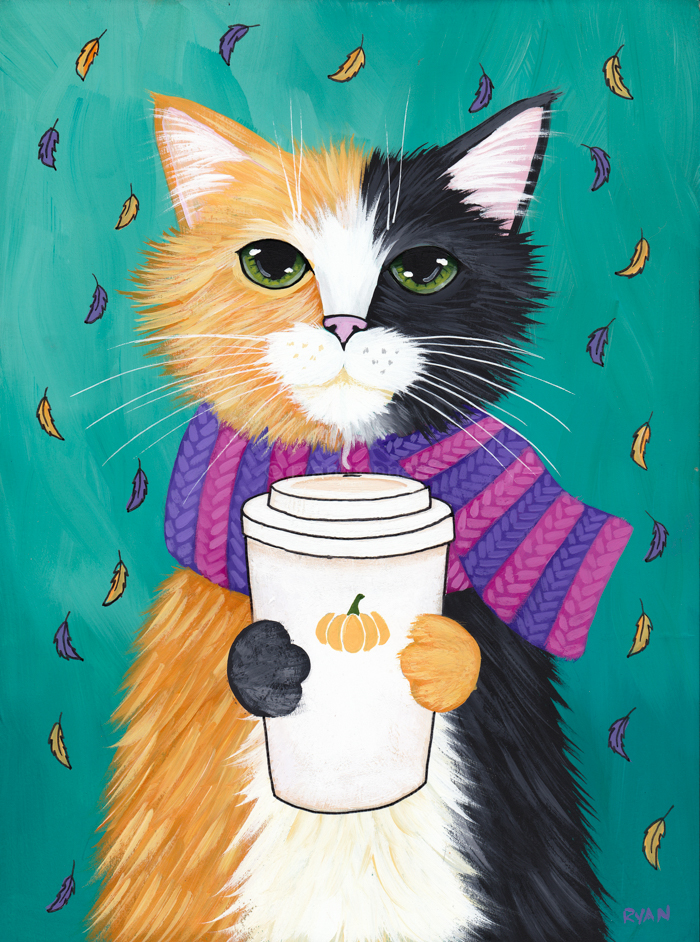 Free Fall Cat Wallpaper Autumn Kitties Ryan Conners Art And Photography