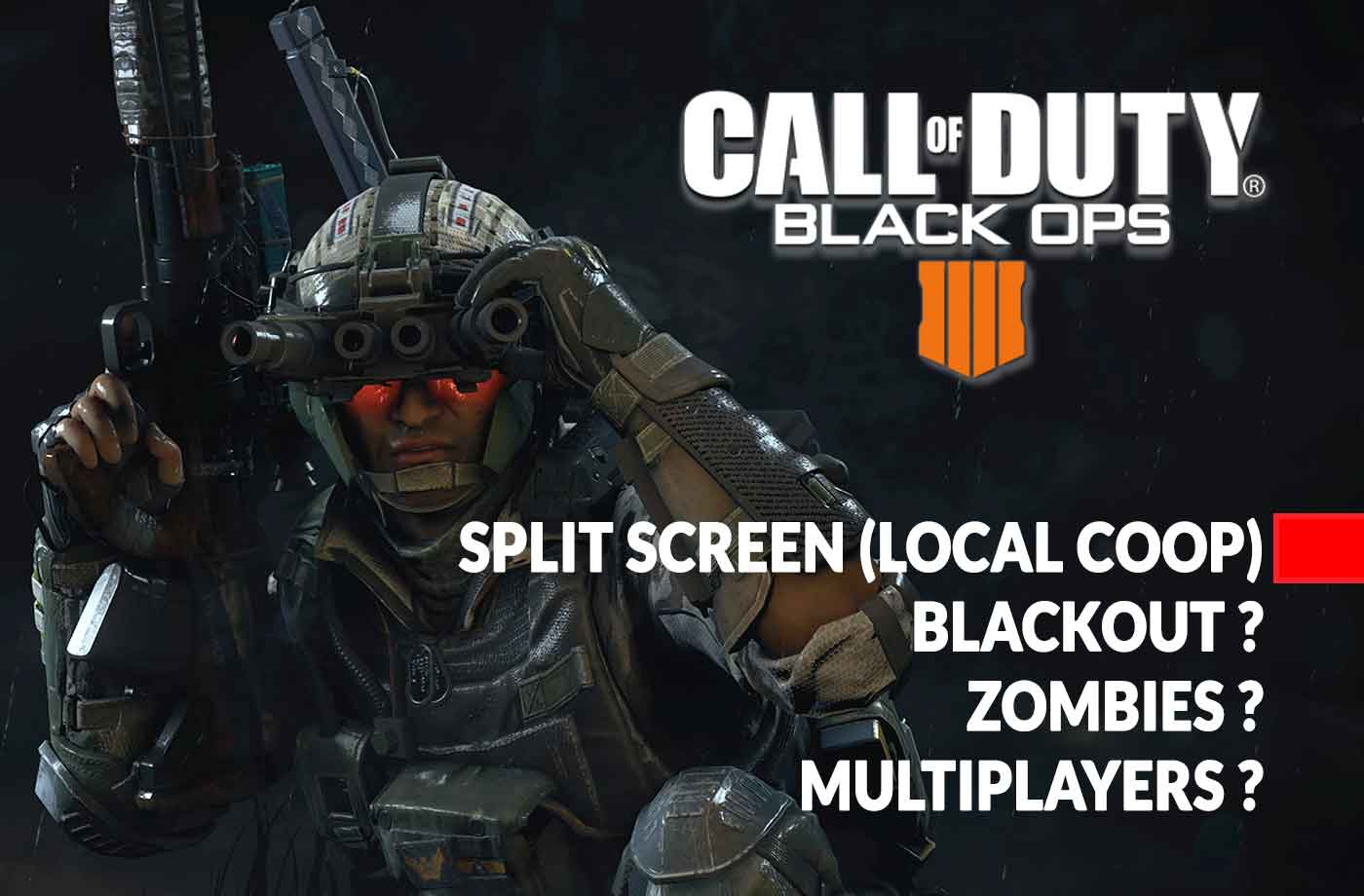 Ps Vita Cod Zombies Call Of Duty Black Ops 4 How To Play Split Screen Local Coop On
