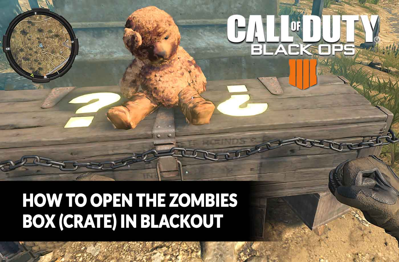Ps Vita Cod Zombies Guide Call Of Duty Black Ops 4 How To Open The Zombies Box Crate