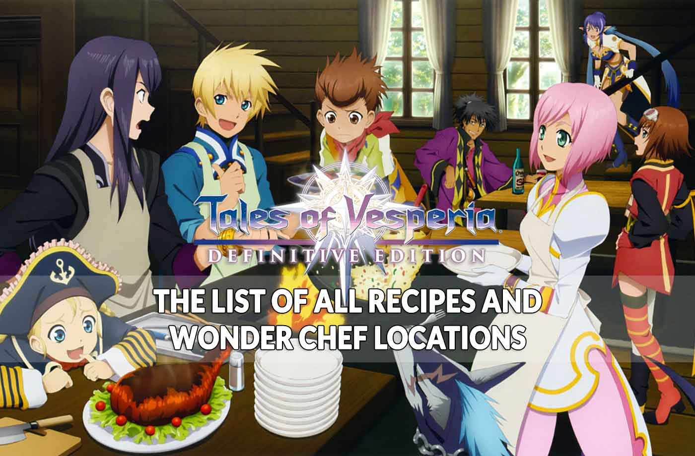 Cuisine Royale Guide Guide Tales Of Vesperia Definitive Edition Where To Find All The