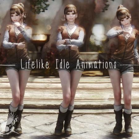 Lifelike Idle Animations